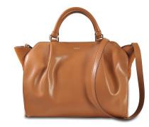 Tasche mit Taschenklappe (wird über der Schulter getragen)