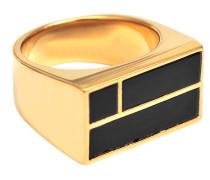 Bianca Square Onyx Ring