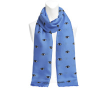 Eyes all over modal scarf 140x190