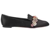 Loafer mit Juwelen