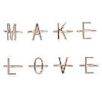 8 Make Love Rings Set