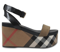 Sandalen Nuneaton Check Wedge