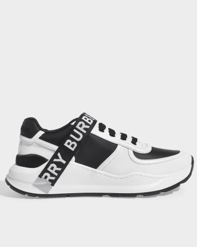 Sneaker Ronnie aus weißem Leder