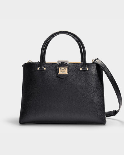 Marianne Bag un Black Grainy Calf Leather