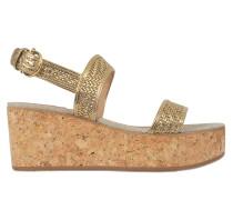 Euritea cork wedge sandals