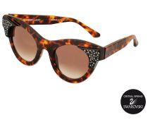 Exklusive Sonnenbrille Nymphomany mit Swarovski-Kristallen