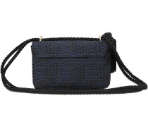 Exklusive -damastartige Flap Bag