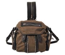 Rucksack Mini Marti aus Nylon und Lamm-Nappa