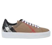 WESTFORD CHECK LACE UP SNEAKERS