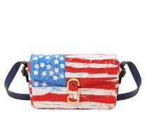 American Flag Schultertasche