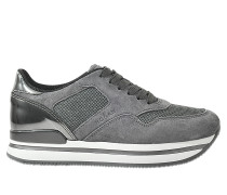 H22 Sportivo Sneaker aus Veloursleder
