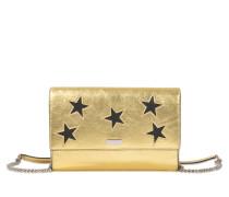Clutch I-pad Metalllisée Stars