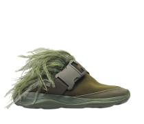 Feather Sneaker Slide