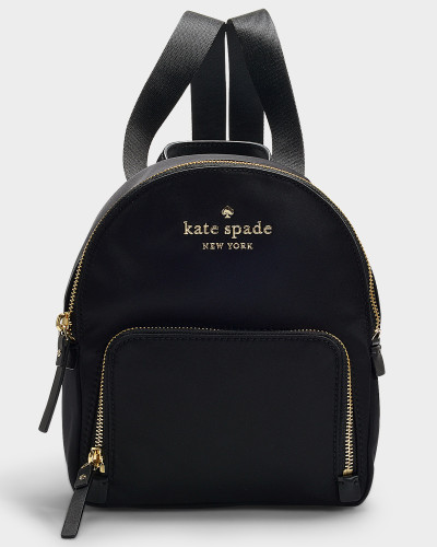 Watson Lane Small Hartley Backpack in Black Nylon