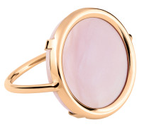 Ring Ever Pink MOP Disc