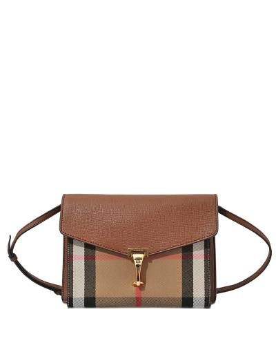 Burberry Damen Small Macken Tasche aus Tan Canvas und Kalbsleder Rabatt Wie Viel Billigsten Günstig Online Billig Kaufen Bestellen kQ8RbFlJ4