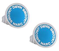 Ohrringe logo disc Studs