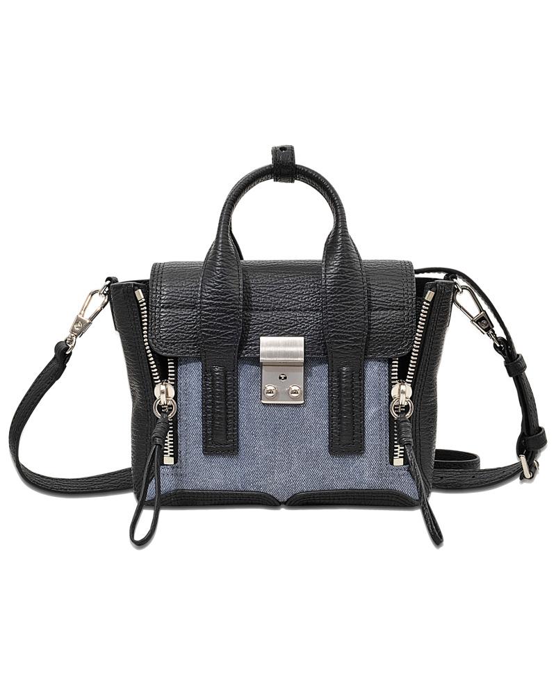 3 1 phillip lim damen 3 1 phillip lim mini pashli satchel tasche reduziert. Black Bedroom Furniture Sets. Home Design Ideas