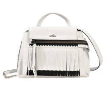 SMALL DOUBLE CARRY BAG WITH FRINGES