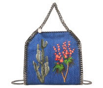Eco Jeans embroidered Mini Bella bag