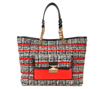 K Kuilted Tweed Shopper