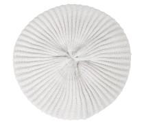 kurze Mütze aus Kaschmir mit Perle