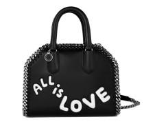 Mini Tasche Falabella Box Tiny 'All is love'