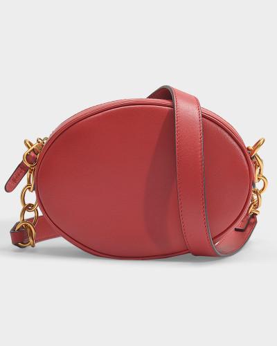 Tasche Gilly aus rotem Kalbsleder