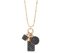 Halskette Mini Black Diamond Ever Charm
