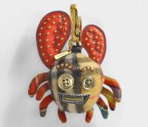 Schlüsselanhänger Krabbe