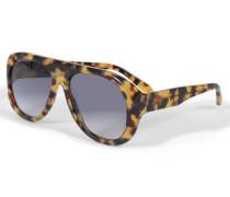 Aviator Sonnenbrille Power Frame