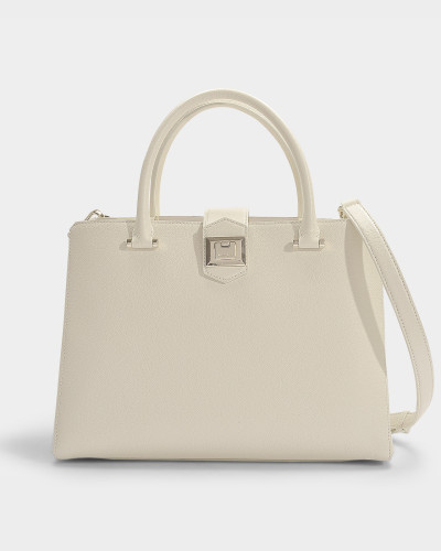 Marianne Bag in Linen Grainy Calf Leather