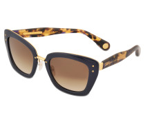 Sonnenbrille MJ 506/S schwarzes Schuppenmotiv