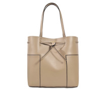 Block T bucket bag