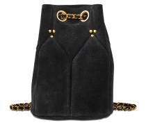 Tasche Popeye aus Veloursleder; Tasche Popeye in Batik-Optik