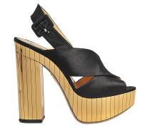 Sandalen mit Plateau Electra
