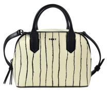 Mini Satchel Twine Stripe