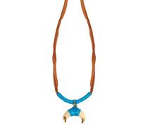 Halskette Takayama mit Bakelit und Leder