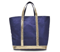 Canvas and Sequins Medium tote