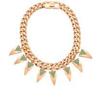 Halskette Deco Fang