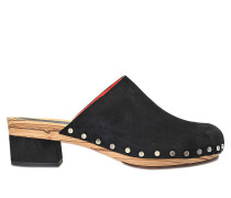 KATTY SUEDE CLOG