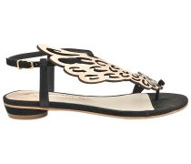 Flache Schuhe Seraphina Black Rose