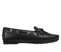 City logo loafers (rubber sole)