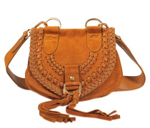 Collins small braided messenger