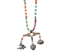 Halskette Santeria Beads and charms