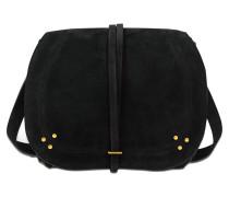 Tasche Nestor aus Veloursleder