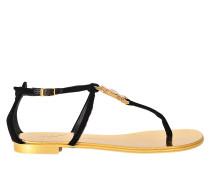 Sandalen mit Juwelen