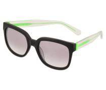 Sonnenbrille MMJ 361/S Schwarz Verspiegelt