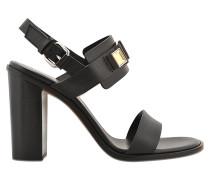 Sandalen mit breitem Absatz