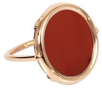 Ring Cordoba Carnelian Disc